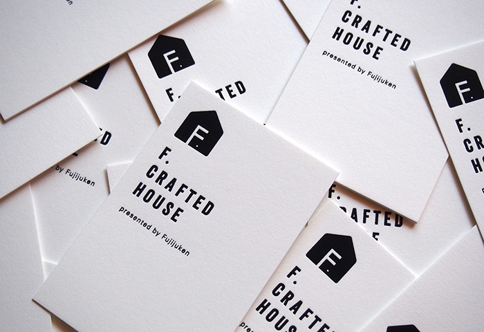 F.CRAFTED HOUSE ブランディング