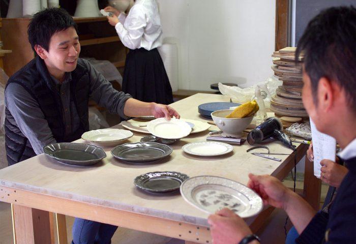 阿部慎太朗さんの工房へ取材・撮影に伺いました。