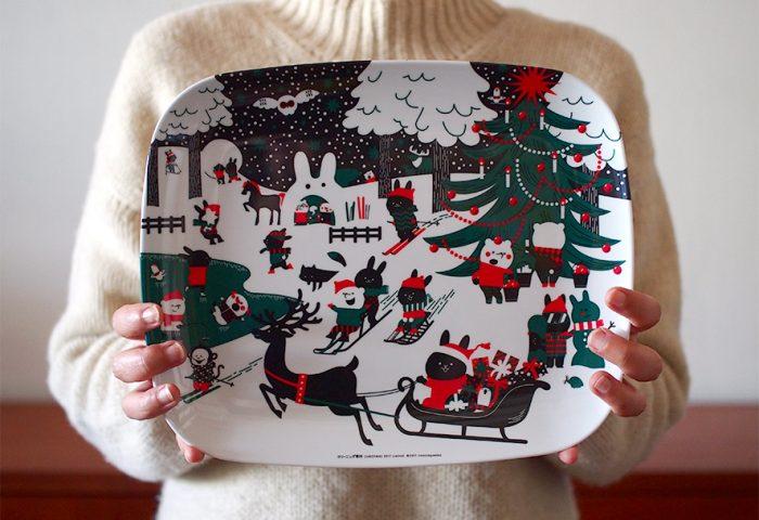 クリーニング専科オリジナル クリスマストレイ