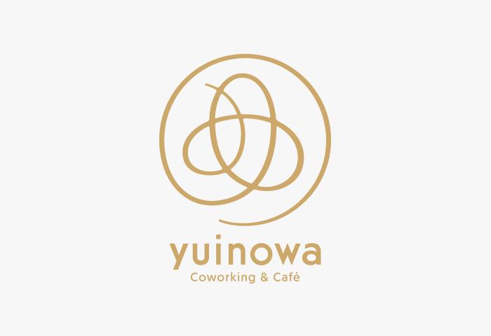Coworking & Café yuinowa ロゴマーク