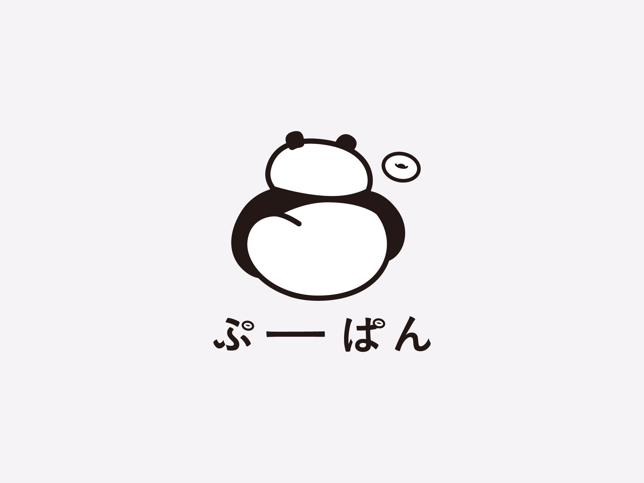 ぷーぱんのロゴマーク