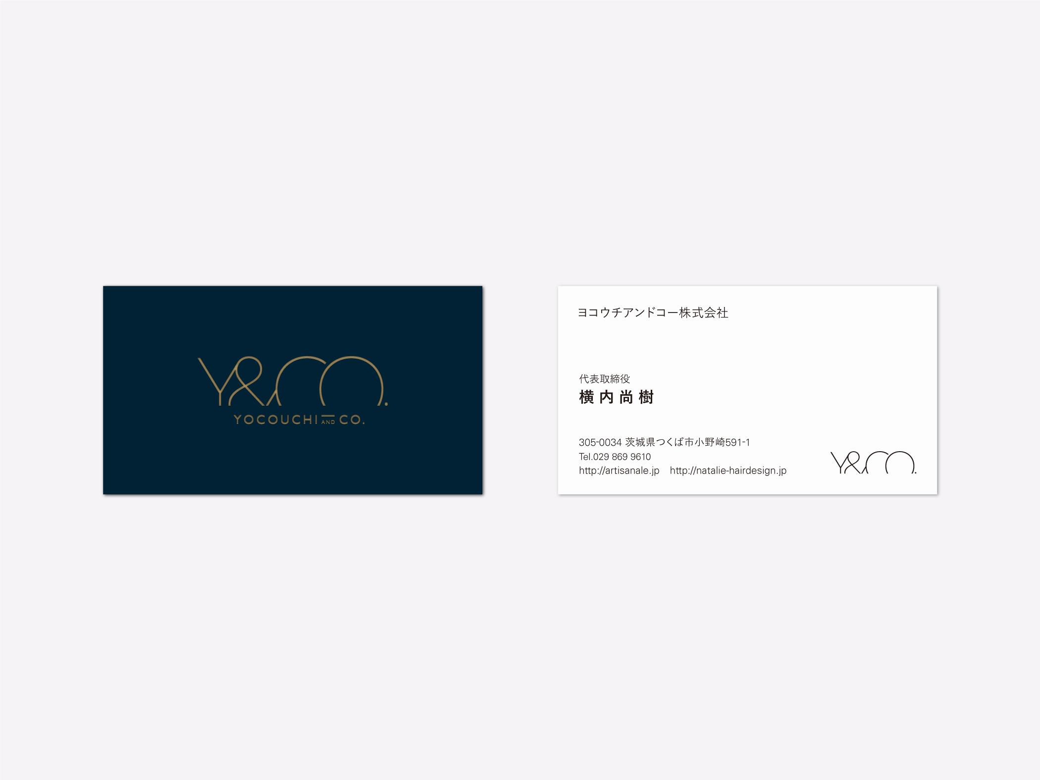 Yocouchi & Co.株式会社の名刺